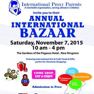 2015 Bazaar Details Poster