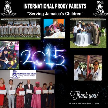 2015 Message of Thanks