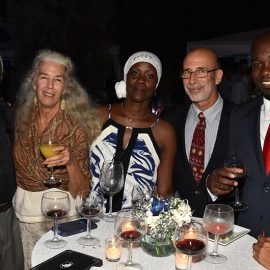 EMBASSY OF CHILE HOSTS WINE & CHEESE SOIREE FOR IPP SCHOLARSHIP FUND