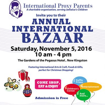 2016 Bazaar Details Poster