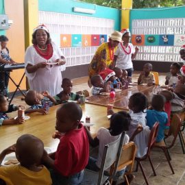 IPP Christmas Treats at Glenhope Nursery and Homestead Girls Home were full of fun