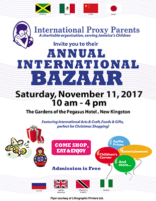 2017 International Bazaar Poster